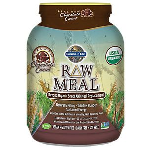 Raw Meal Chocolate Cacao 17 9 Ounces Powder By Garden Of Life At The Vitamin Shoppe Raw Food Recipes Organic Recipes Shake Recipes