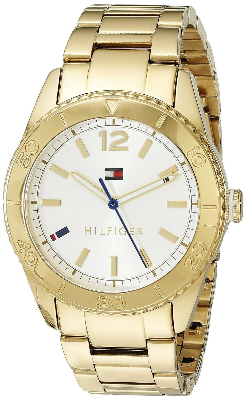 b97b37a1ce6e Tommy hilfiger Mujer 1781268 N a Reloj Acero inoxidable Plata ...