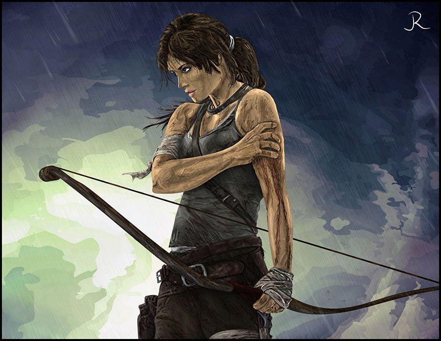 Lara Croft - Tomb Raider #3 by SpideyVille.deviantart.com