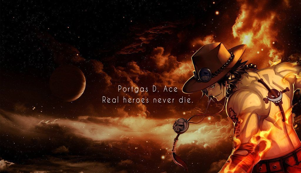 Download Wallpapers One Piece Anime Simple 1024x768 Portgas D Ace