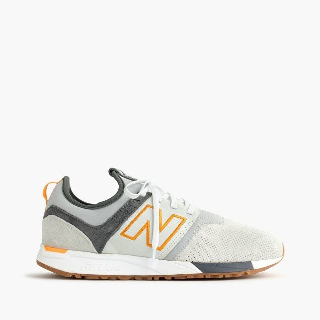96bd15f37f28 new balance® for j.crew 247 luxe sneakers in suede   men shoes ...