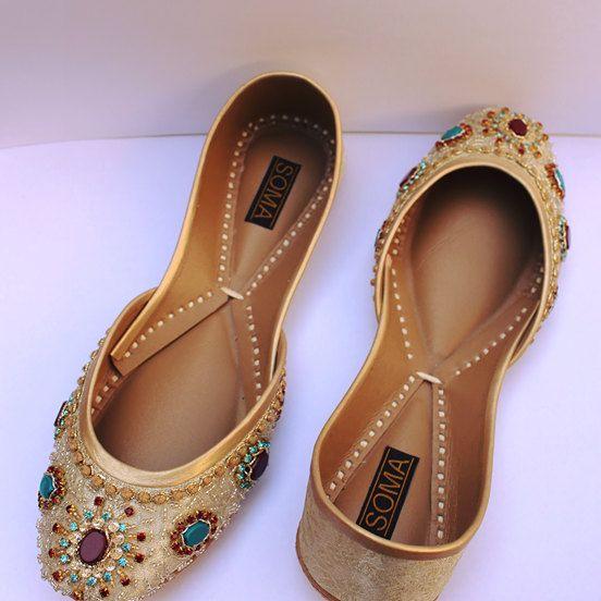 ed5a5206bea92 34 Gorgeous Bridal Shoes   Shoes for the Bride   Bride flats ...