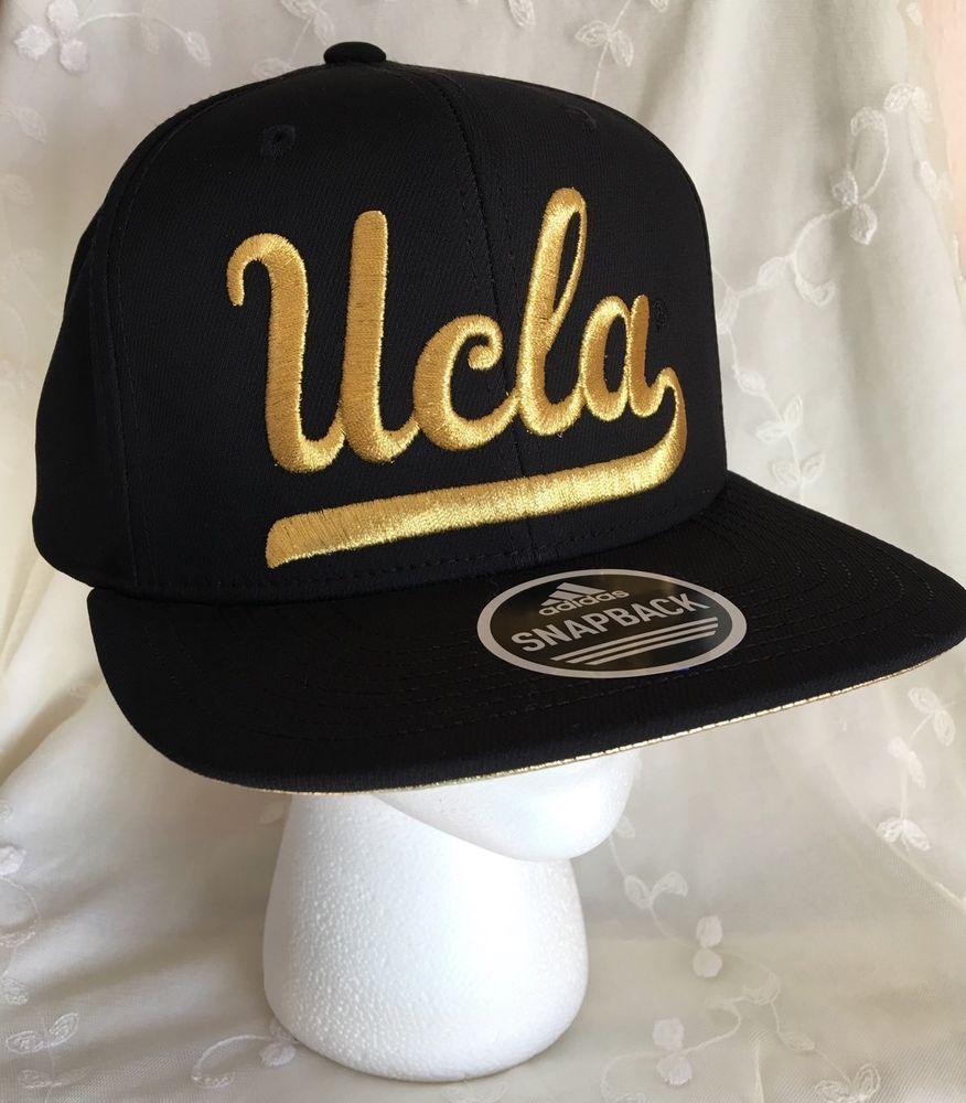 67efbe52 low price adidas ucla gold black flat brim snapback baseball cap la so cal  go bruins