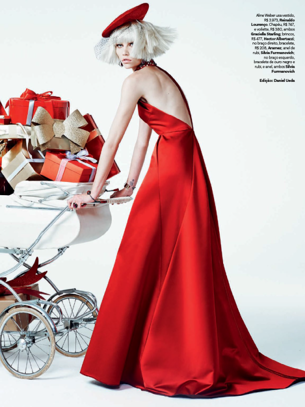 Aline Weber by Zee Nunes for Vogue Brazil December 2013 ...