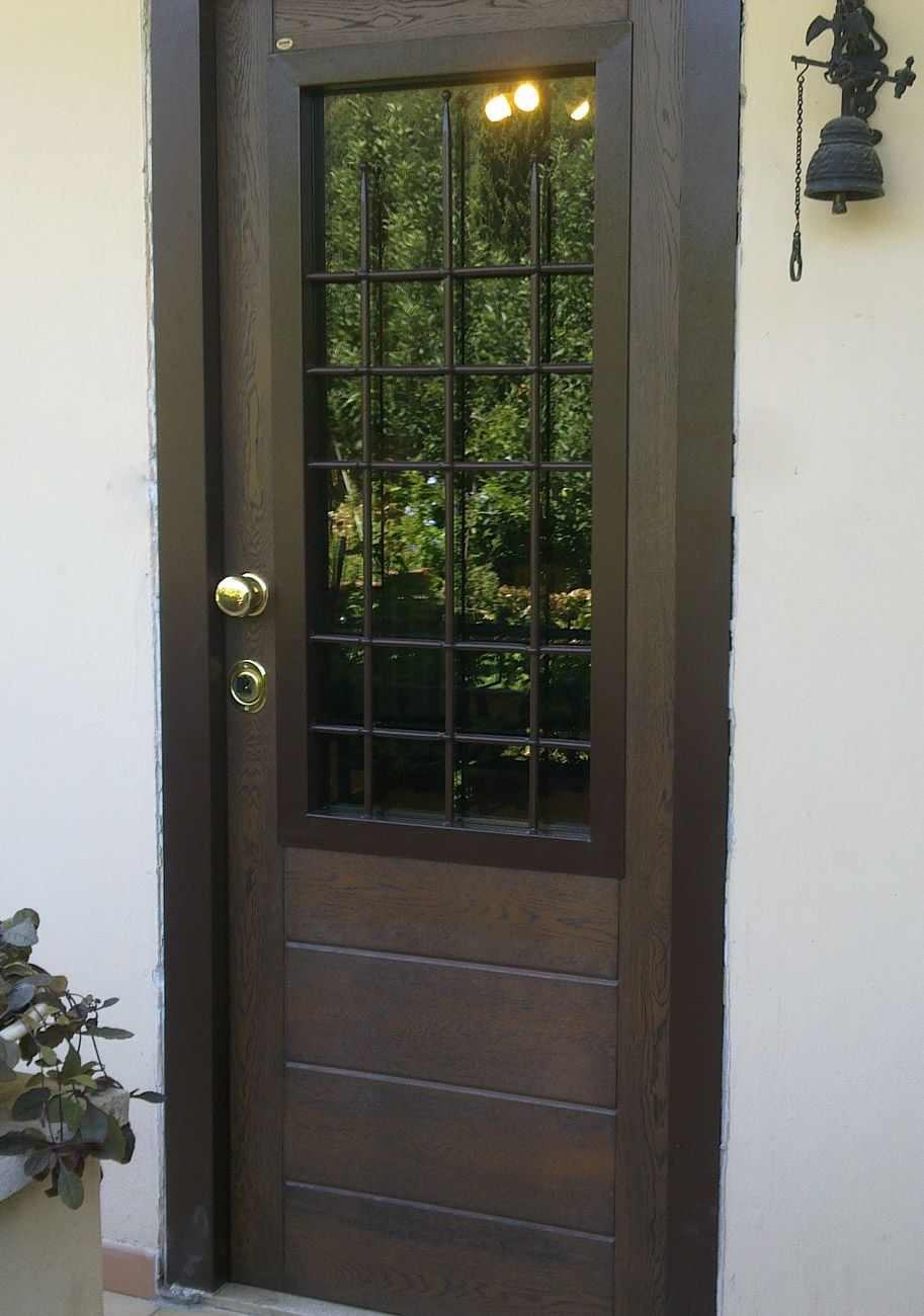 Portoni ingresso a vetri doors pinterest doors - Portoni ingresso blindati ...