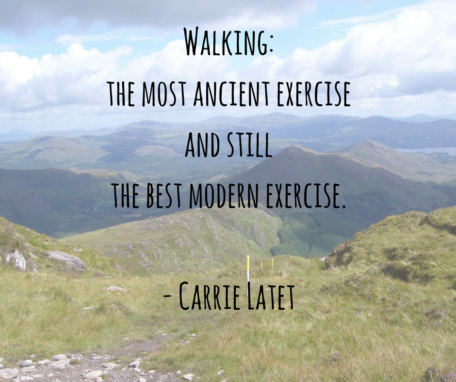 Hiking Quote - Walking