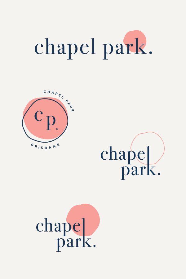 Photo of Chapel Park Cafe Logo System
