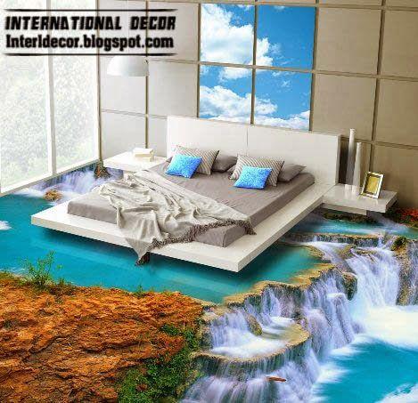 Unusual Flooring Ideas 3d floor murals and 3d self leveling floors, unusual floor