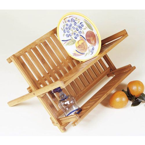 Collapsible Bamboo Dish Rack ($21.99) 13 W x 17.75 L x 10  sc 1 st  Pinterest & Collapsible Bamboo Dish Rack ($21.99) 13