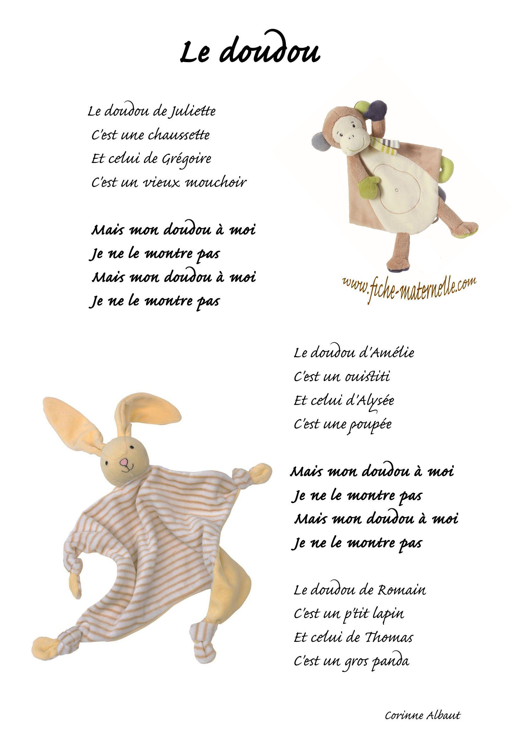 Chanson Le Doudou Comptines Chanson Enfantine Comptines Enfants