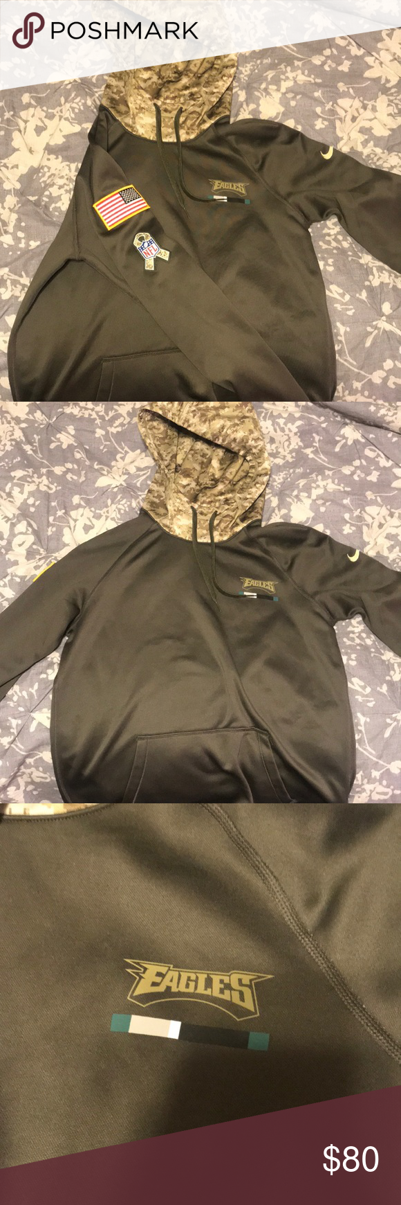 8137fb5bc 2017 Nike NFL Military Appreciation Eagles Jacket This is women s medium  2017 edition of Nike s NFL
