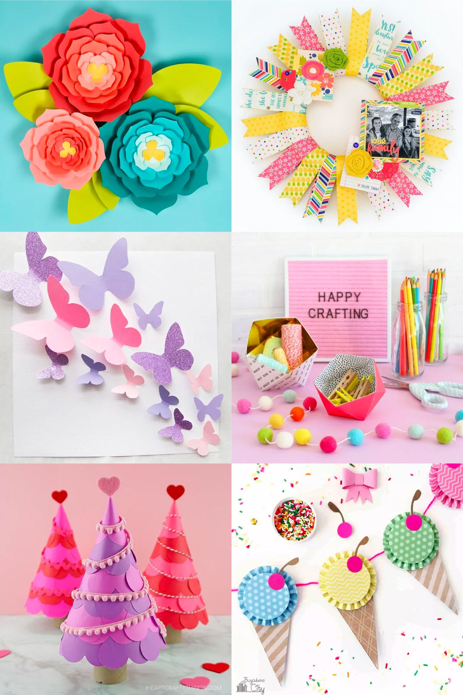 30 Gorgeous Paper Craft Ideas Hey Let S Make Stuff In 2020