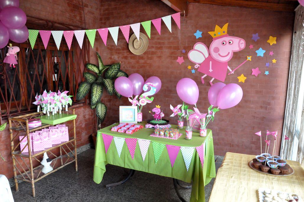 Fiesta de cumplea os peppa pig 63 tips s per divertidos for Decoracion de cumpleanos
