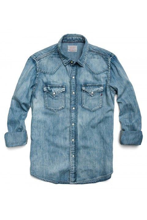 Flap denim shirt - Blue Mother Sale Big Sale Clearance 2018 New xWVzUesyvd