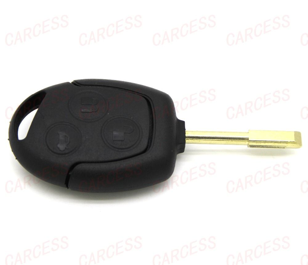 Fd03003 remote key fob case 3 buton with blade for ford mondeo fiesta ka focus