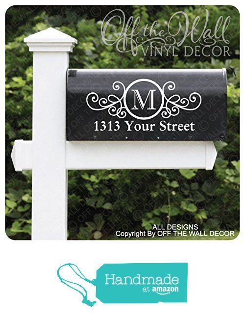 Vinyl Mailbox Lettering Decoration #D22 from Off The Wall Vinyl ...