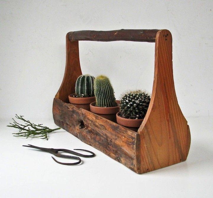 Top 8 macetas de dise o macetas de madera macetas y madera - Macetas de madera ...