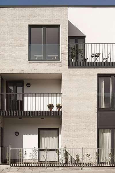 Milkwood Road C F Moller Photo Mark Hadden Social Housing Architecture Facade Design Brick Architecture