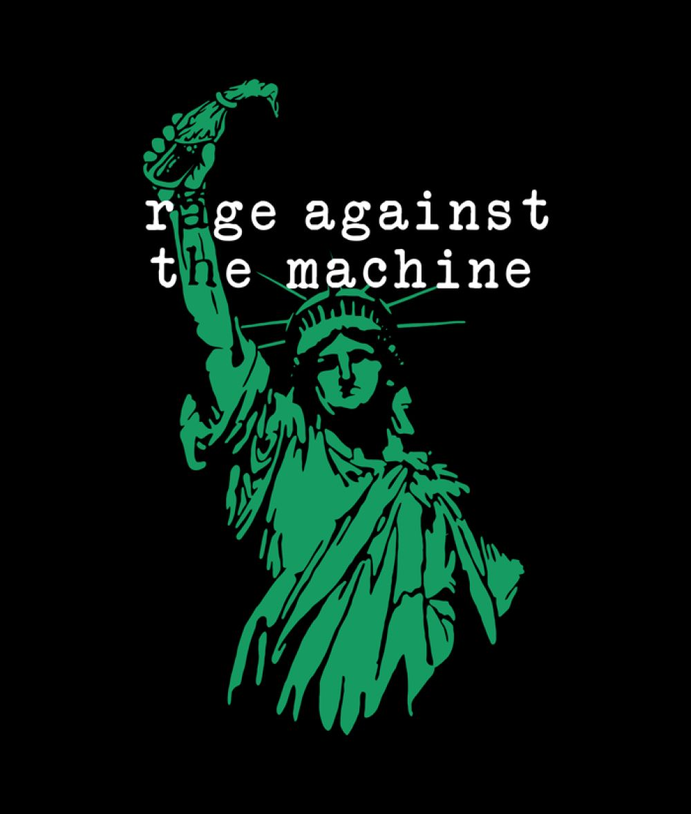 Rage Against The Machine Liberty Band T Shirt In 2020 Rage