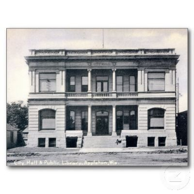 appleton public library - the building I loved, now sadly gone