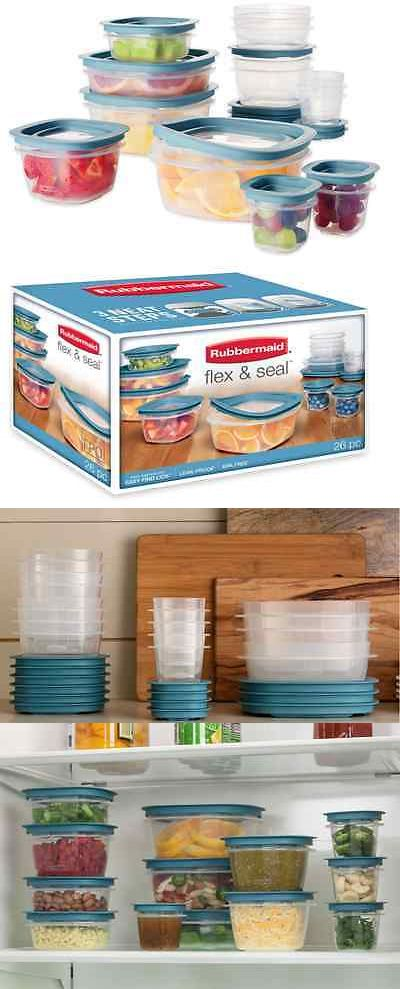 Rubbermaid Brilliance Food Storage Container Set 22 Piece Clear Impressive Food Storage Containers 20655 Rubbermaid Easy Find Lids 26Piece Design Ideas