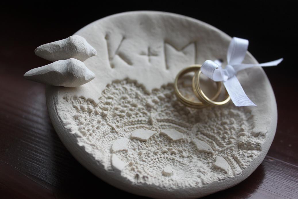 Miseczka Poduszka Na Pod Obrączki Pamiątka ślub Wedding