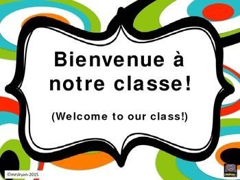use these 24 classroom posters to not only give your room a more rh pinterest com French Words Clip Art French Icons Clip Art