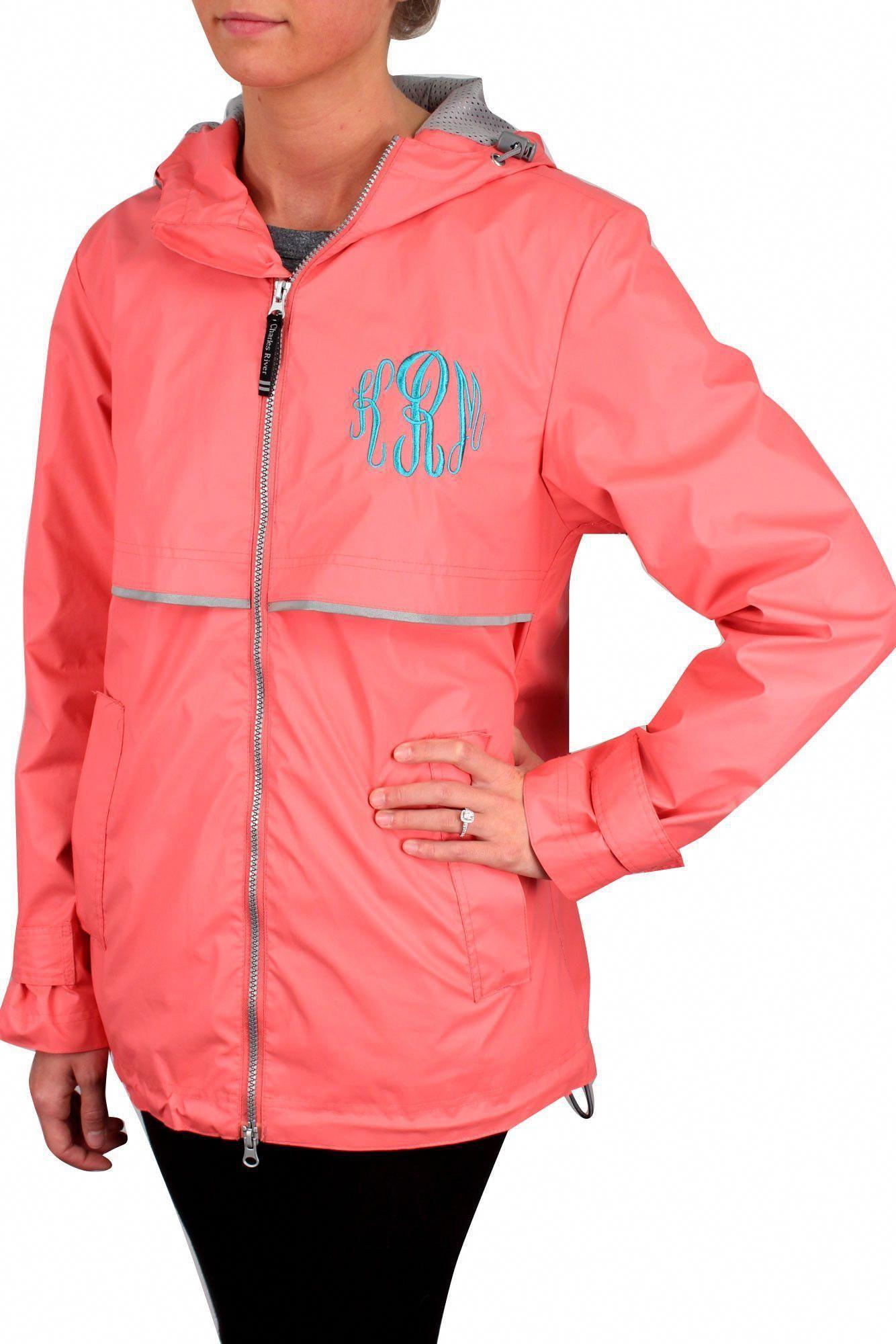 7f4cae8ee84 Charles River Women s New Englander Coral Rain Jacket  5099  Customizable!   BestWomensraincoat2017