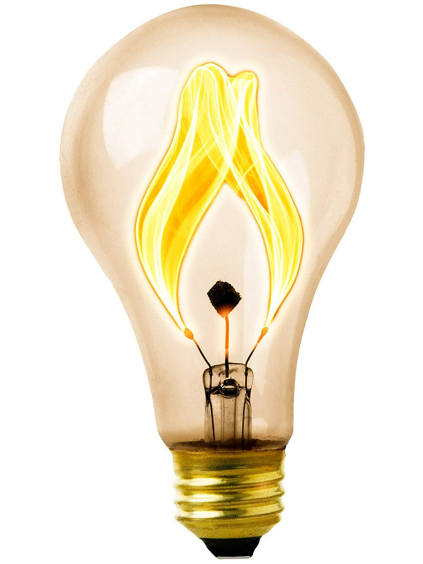 The Balafire Flicker Bulb Has An Oscillating Carbon Filament That Swings Rapidly From Side To Side Within The Glass Edison Light Bulbs Antique Bulbs Light Bulb