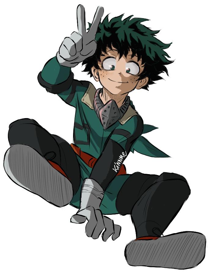 Izuku Midoriya Not My Art Credit Kinnme Tumblr Com My Hero Hero My Hero Academia