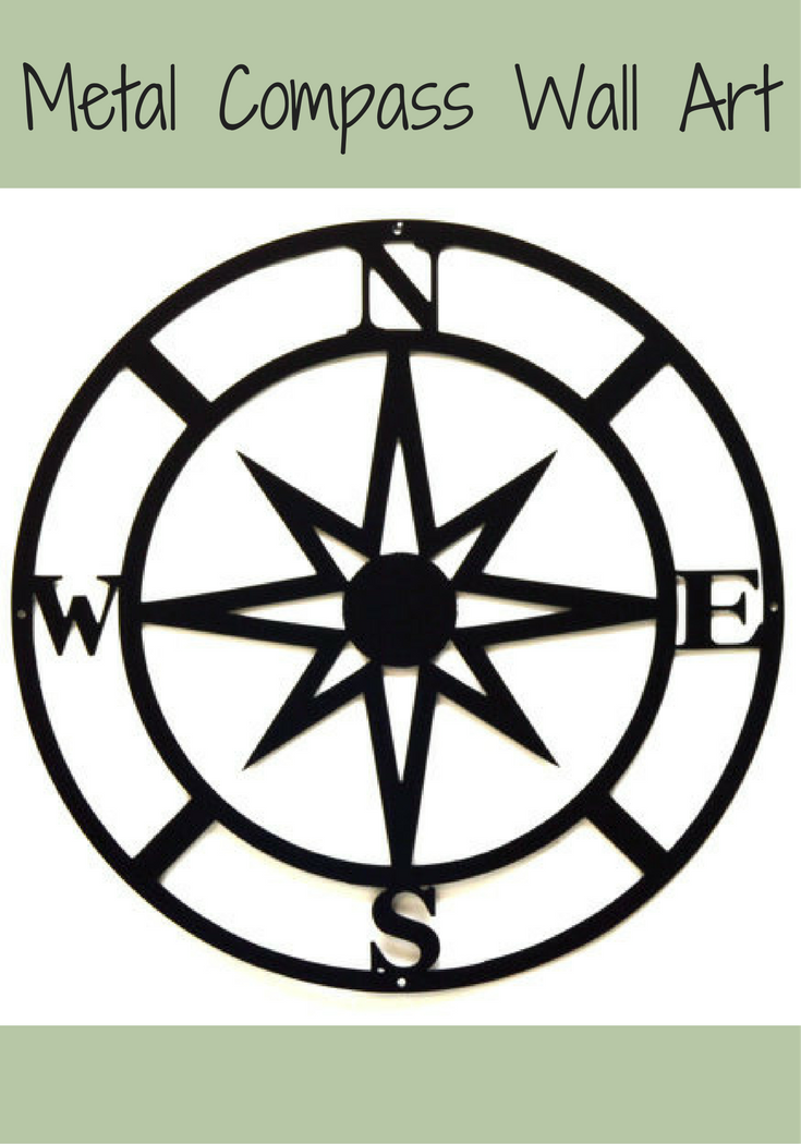 Metal Compass Decoration For Indoor Or Outdoor Decor Gallery