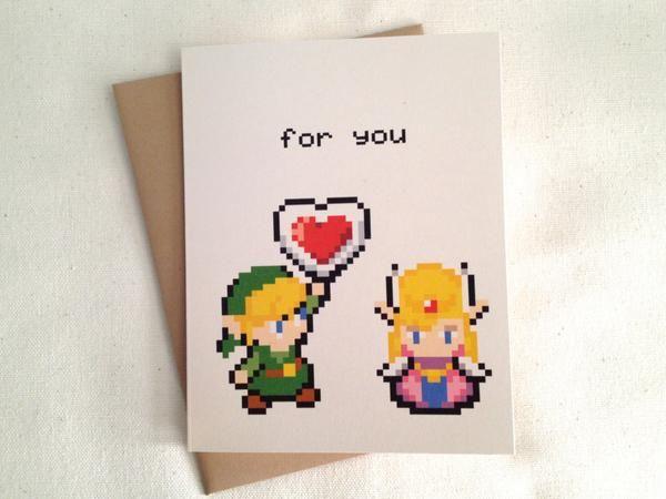 The Legend Of Zelda Greeting Card Things I Like Pinterest