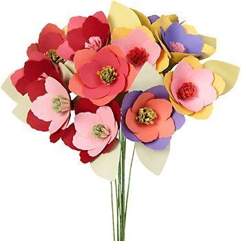 Mini Magnolia Flower Kit Colors Paper Flowers Paper Flower