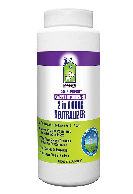 GO-2-FRESH® Pet Odor Eliminator, Carpet Deodorizer