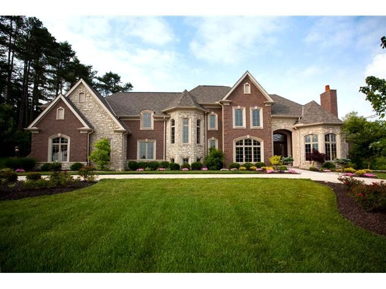 7934 Ayers Road Anderson Township Traditional Exterior Custom Homes Gorgeous Houses