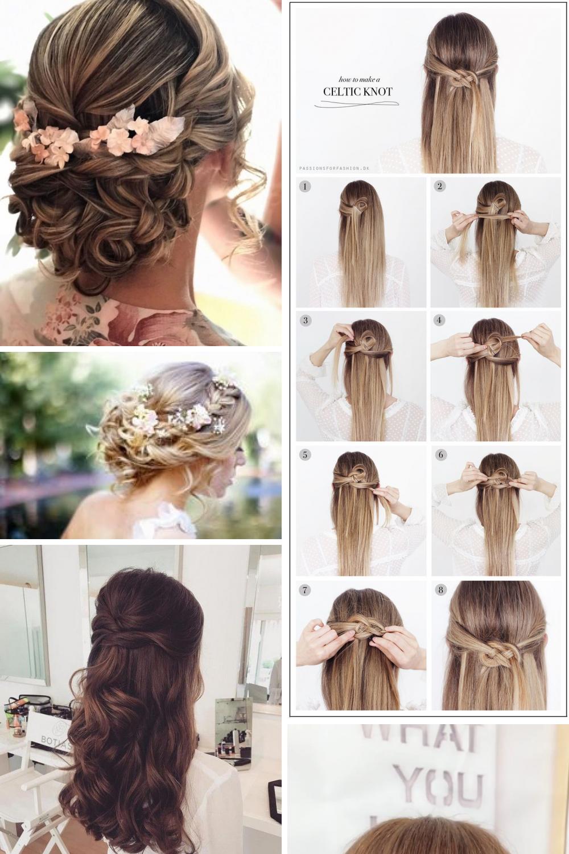 22 cute wedding hairstyle vintage simple and easy, wedding
