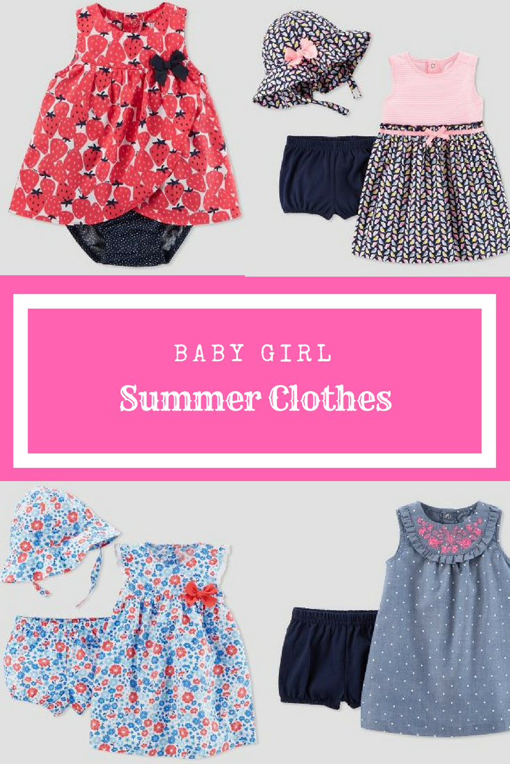 Summer Baby Girl Clothes Baby Fashion Baby Kids Clothes