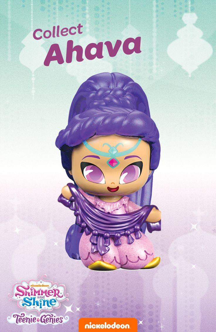 Shimmer And Shine Collectable Teenie Genies Are In Stores Now Shop Here To Buy Ahava Her Purple Scarf Make Sure Collect Them All