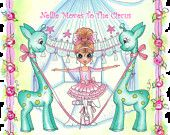 Cirque De La Ragamuffin Nellie Moves To The Circus Digi E Book By Sherri Baldy. $7.99, via Etsy.