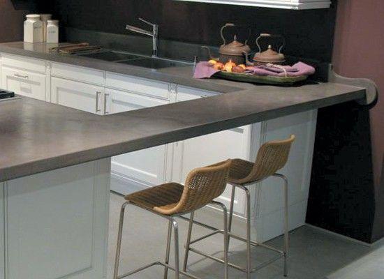 Blogydeco 10 estilos de cocina con cemento alisado for Cocinas integrales de cemento
