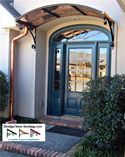 Project Photo Gallery Metal Amp Copper Awnings Copper