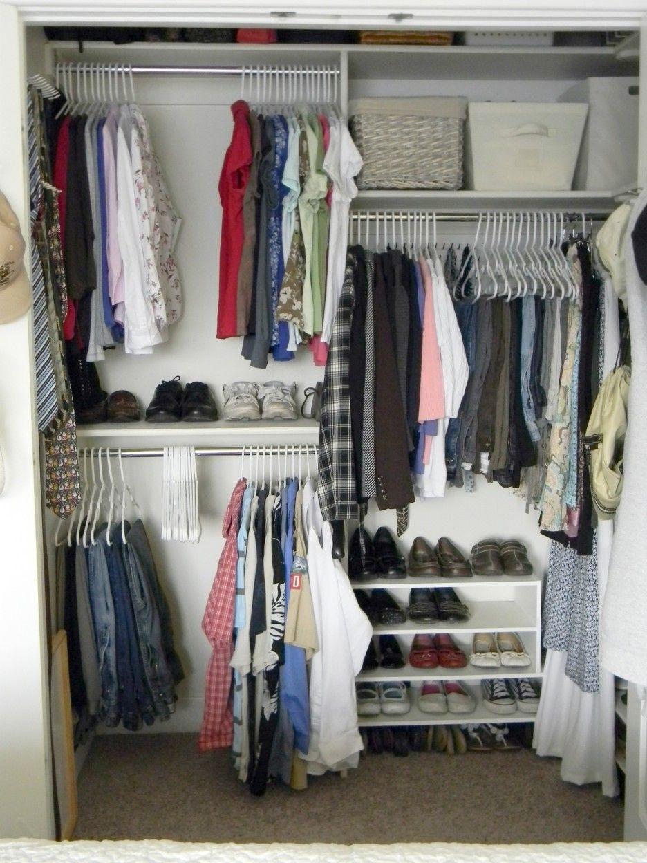 INCREDIBLE SMALL WALK-IN CLOSET IDEAS & MAKEOVERS  closet ideas