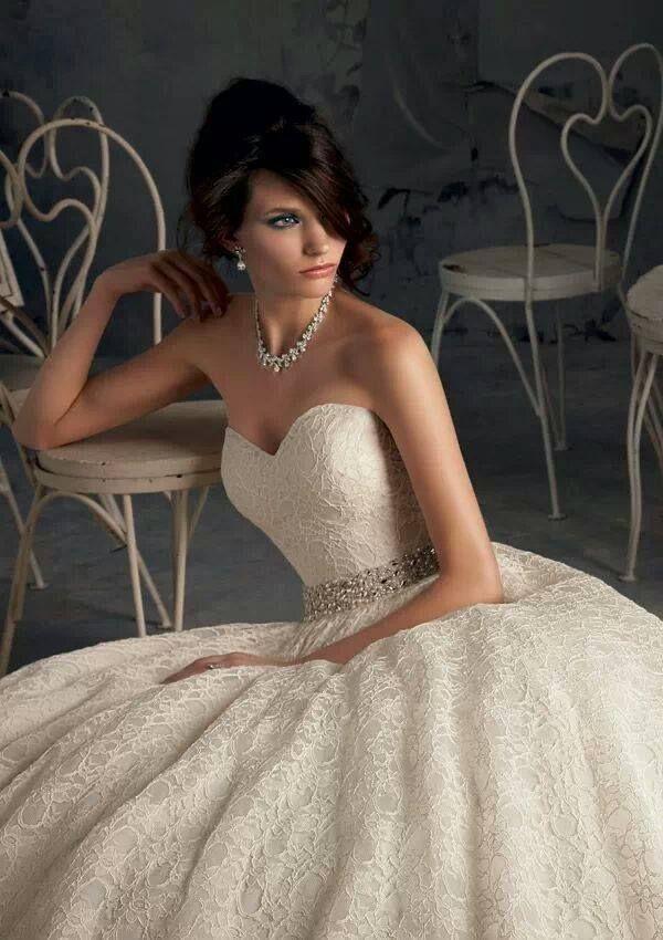 Vestido de novia corte princesa REF:Virtu98 :: Virtual Novia Book ...