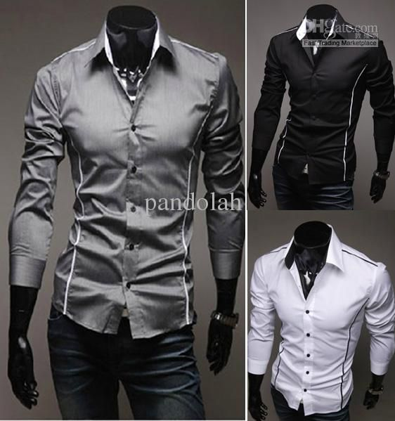 Wholesale Best Quality Style2 2017 Mens Fashion Luxury Stylish ...