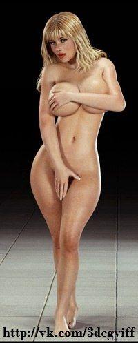 Erotic 3d Art Blackadder