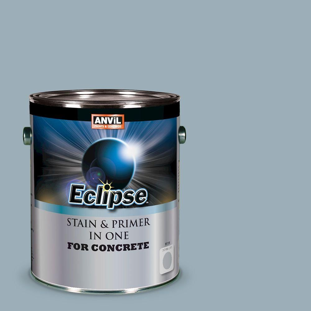 ANViL 1-gal  Dover Grey Eclipse Concrete Stain and Primer in