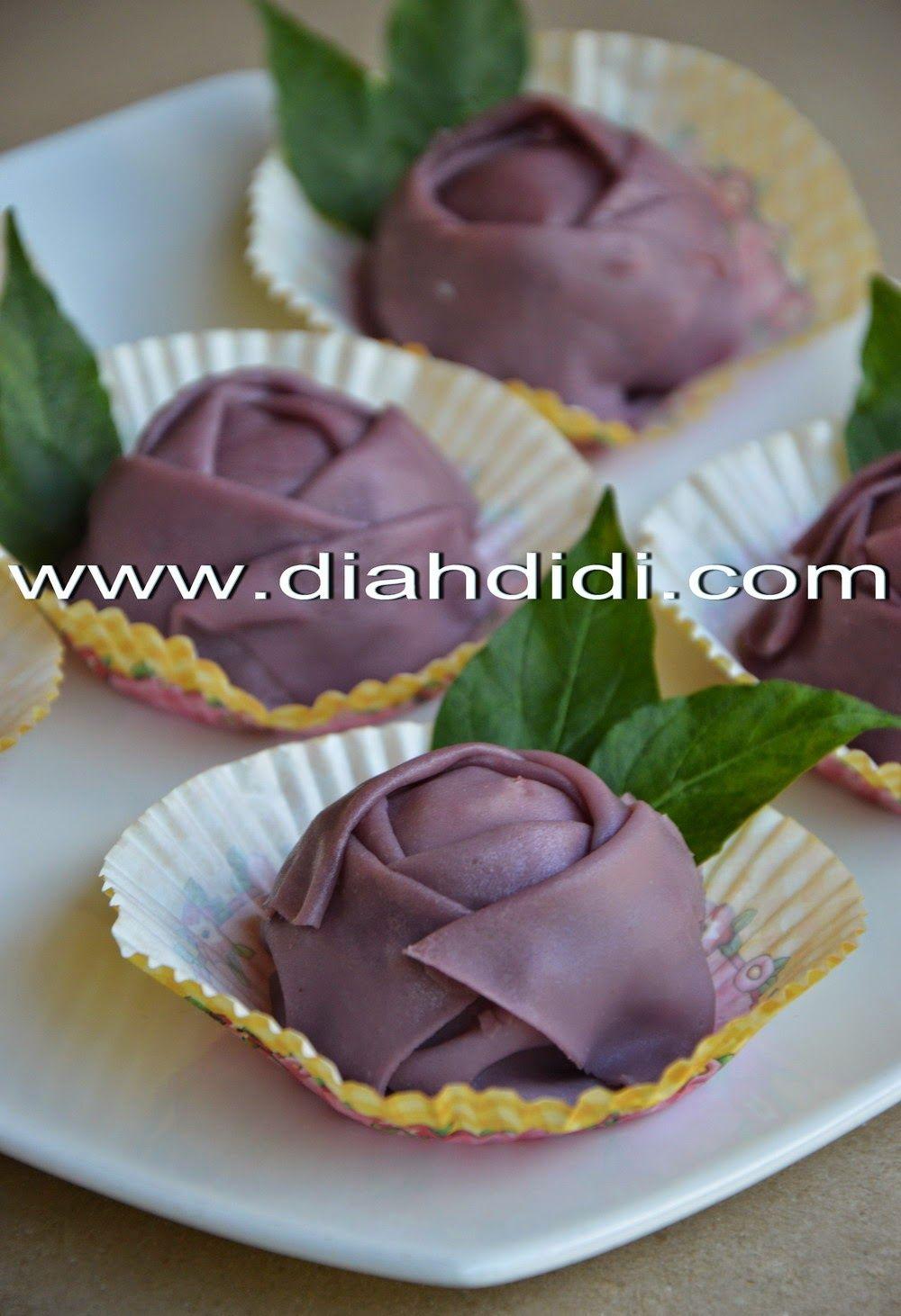 Diah Didi S Kitchen Dadar Gulung Mawar Ubi Ungu Makanan Kue Lezat Makanan Enak