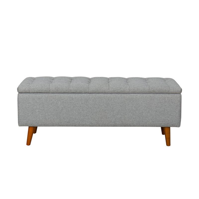 Dietz Upholstered Storage Bench In 2019 Jack S Room Tufted