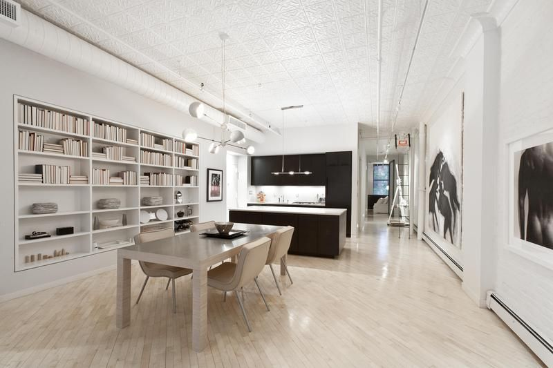 Modern New York loft.