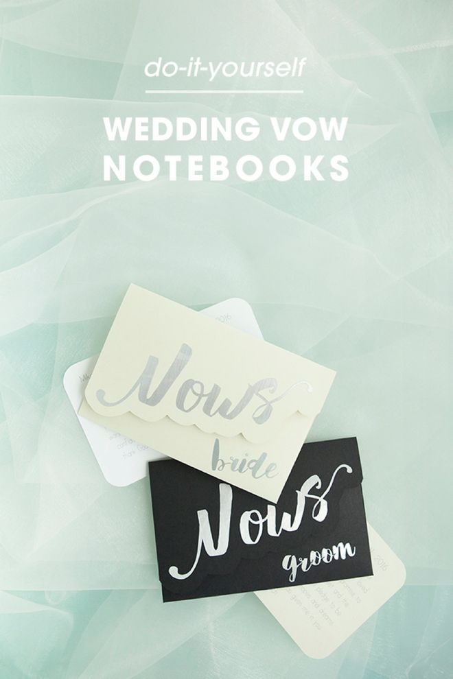 Make your own adorable wedding vow notebooks wedding vows darling diy idea for custom wedding vow notebooks from sturquoiseblog solutioingenieria Images